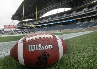 The Winnipeg Blue Bombers will play their first pre-season game in the brand new stadium this Wednesday evening against the Toronto Argonauts.