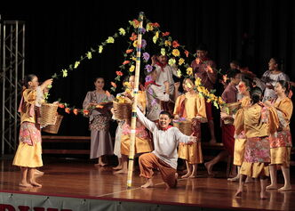 Performers at Folklorama's Philippine Pavilion Monday, August 11.
