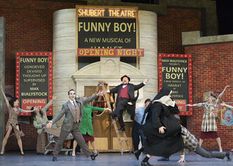 Subtlety is in short supply in the zany, action-packed production of The Producers at Rainbow Stage.