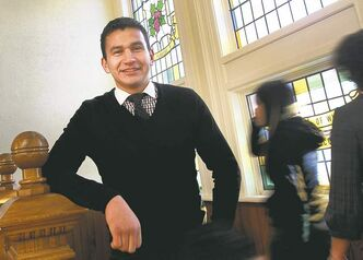 Wab Kinew is the director of indigenous inclusion at the University of Winnipeg.