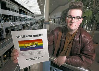 Evan Wiens is holding Steinbach's first GSA meeting Friday.