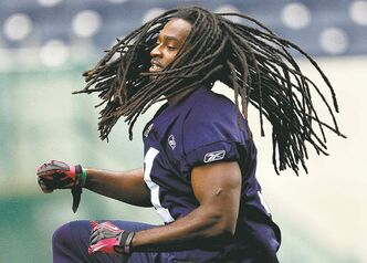 Rookie import defensive back Dekota Marshall has the dreads happening.