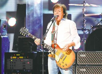 Paul McCartney performed earlier in the week at 12-12-12 The Concert for Sandy Relief in New York City .