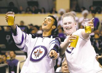 The good times were flowing in the MTS Centre stands each and every game last season.
