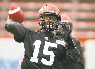 Kevin Glenn had a 9-5 record starting at QB for the Stamps in 2012 and led the team to a Grey Cup appearance.