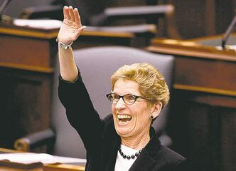 Ontario Premier Kathleen Wynne said high number of women 'a very good thing.'