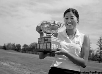 Jessie Choi won the Manitoba women's amateur by three shots Friday.