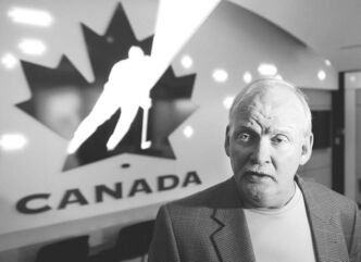 Lindy Ruff was introduced as head coach of Team Canada at a press conference in Calgary on Wednesday.