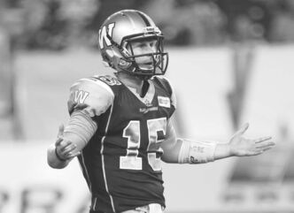 Winnipeg Blue Bombers quarterback Max Hall gets the call for the second straight game today in Guelph.