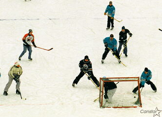 Pond hockey is a sign of our indefatigable winter spirit.