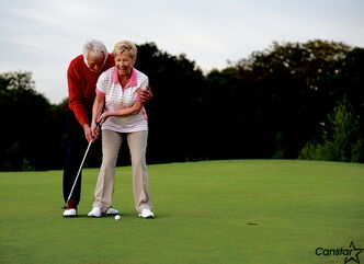It's never too late to take up something new - such as golf in your 60s.