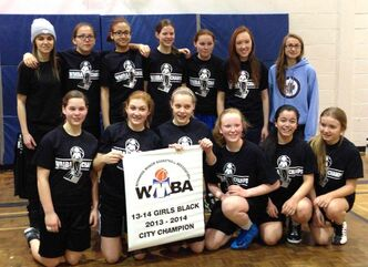 An undefeated season for the Norberry-Glenlee Knights in the Winnipeg Minor Basketball Association's 13-14 girls south division was a crowning achievement.