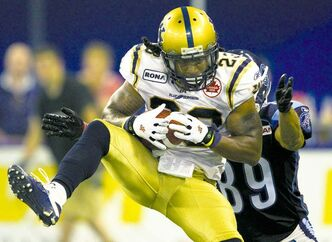 All-star defensive back Jonathan Hefney is a mainstay in the Blue Bombers secondary.