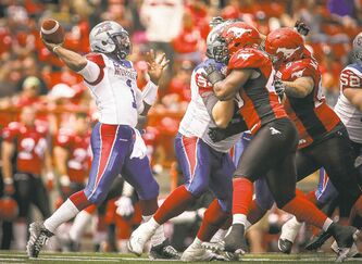 Als starting quarterback Troy Smith played well in Week 2 after a horrendous showing in Week 1. His development is crucial for Montreal.
