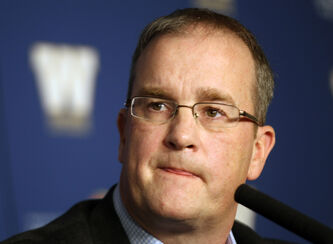 Ted Goveia is Winnipeg Blue Bombers new assistant general manager and director of player personnel,centre.