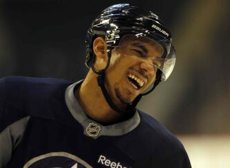 'I'm back in and ready to go,' Evander Kane said this morning.