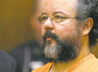 Ariel Castro in the courtroom during the sentencing phase in Cleveland in August