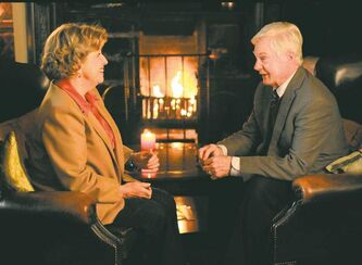 Derek Jacobi and Anne Reid star as Alan and Celia in Last Tango in Halifax.