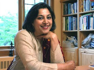 "Author Anita Badami is shown in this undated handout photo. The seed for Badami's new novel, ""Tell it to the Trees,"" was planted more than a decade ago.The Montreal-based author was visiting a remote town in northern British Columbia to do research for a freelance magazine story when a young Indian woman — a complete stranger — offered to put her up for the night. THE CANADIAN PRESS/HO, Richard-Max Tremblay"