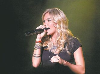 Country music entertainer Carrie Underwood headlines Dauphin's Countryfest in June 2013.