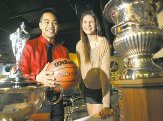 The Garden City Fighting Gophers' Josh Magpantay and the Glenlawn Lions' Emily Potter each want to win in their last trip to the high-school show.