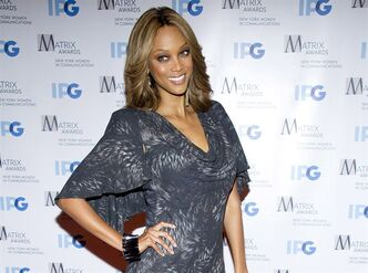 "FILE - This April 23, 2012 file photo shows Tyra Banks arrives to the Matrix Awards in New York. Banks will host a gala dubbed the ""Flawsome Ball"" to benefit a New York City girls club. The former model and talk show host was to announce the event Thursday. Drake will perform at the ball, which is to benefit the Tyra Banks Tzone at the Lower Eastside Girls Club. Banks formed Tzone in 1999 as a weeklong camp for girls, but the organization is now making a permanent home at the New York girls club. (AP Photo/Charles Sykes, file)"