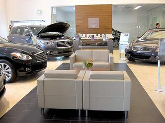 Vickar Nissan's new, larger service area opened for business at the beginning of December.