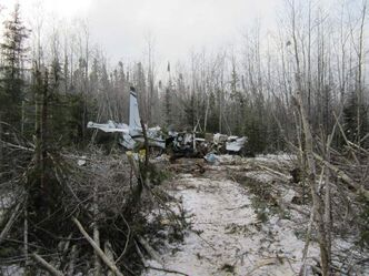 The Cessna 208 Caravan had just left Snow Lake and was on its way to Winnipeg when it crashed about 10 a.m. Sunday.