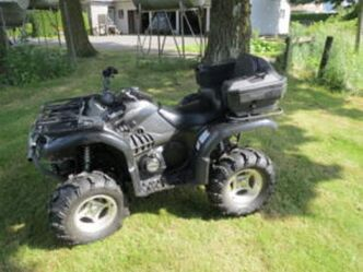 Vehicles similar to this one have been reported stolen to the RCMP, among other types of off-road vehicles.