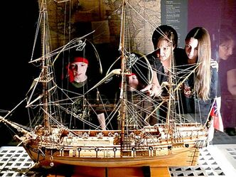 The 300-ton Whydah was considered state-of-the-art and was built to sail at speeds of 13 knots.