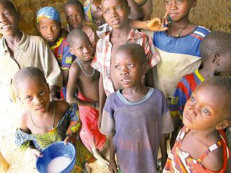 Starving children in Africa make developed world's problems seem downright pleasant.