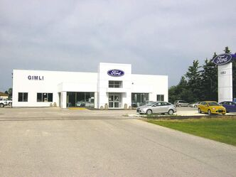 Gimli Auto, the town's Ford dealer, has finished a $1.5-million expansion of its facility.
