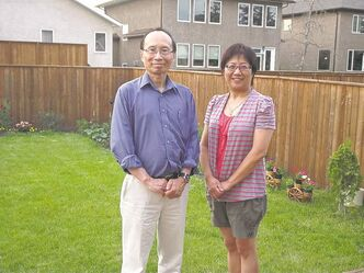 Kai Cheng and Helen Wang of the Winnipeg Chinese Lutheran Church.