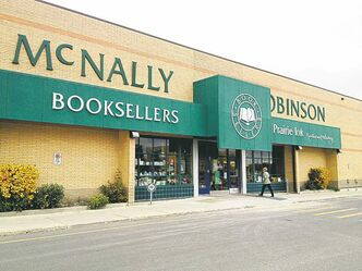 The McNally Robinson bookstore at Grant Park mall is a hub for authors' readings.
