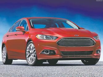 The Ford Fusion is a finalist for Car of the Year.