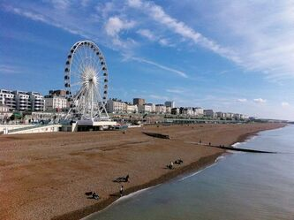 The Brighton Wheel is a relatively new addition to the Brighton seafront that has entertained luminaries from King George IV, through Oscar Wilde and Winston Churchill.