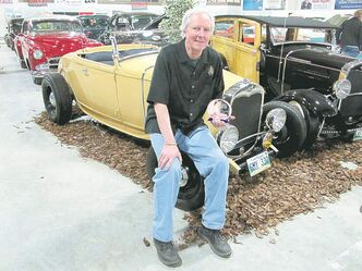 Rob Rose, with his '30 Ford, took home the Tom Milne Memorial Driver Award.
