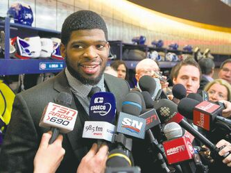Montreal defenceman P.K. Subban is expected to be a force in Sochi, particularly on the Canadian power play.