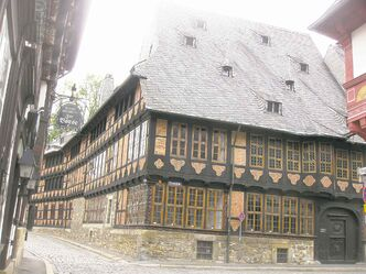 The massive ancestral home of the Siemens family is a Goslar, Germany must-see.