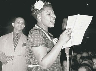 Ella and Chick Webb.