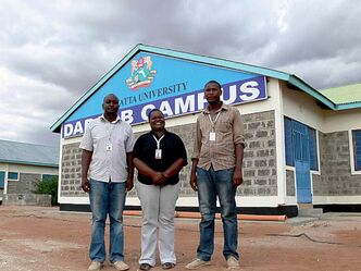 Kenyatta University opened a Dadaab Campus in the town of Dadaab for local students last year.