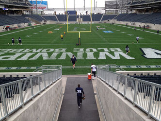 Stuart Olson Dominion Construction has placed a $1.9-million lien against the $204-million Investors Group Field.