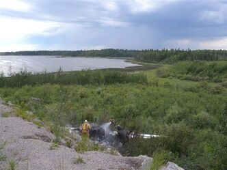 On July 4, 2011, Pukatawagan RCMP were dispatched to the scene of a fatal airplane crash.