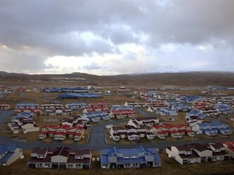 This 2010 photo released by the State of Alaska�Division of Community & Regional Affairs shows neighborhood housing in Adak, Alaska. Officials say a magnitude 7.0 earthquake has rocked Alaska's Aleutian Islands, Friday, Aug. 30, 2013, with a jet-like rumble that shook homes and sent residents scrambling for cover. There are no immediate reports of damage or injuries from the major temblor at 8:25 a.m. Friday, local time. It was followed by multiple aftershocks, including one measuring magnitude 4.5. (AP Photo/State of Alaska�Division of Community & Regional Affairs)