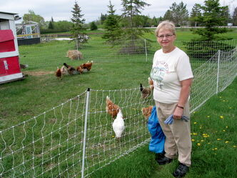 Lori Ann Regnier and family have operated Blue Lagoon Organics for 10 years, growing a variety of vegetables, herbs and fruit on their farm in St. Francois Xavier.