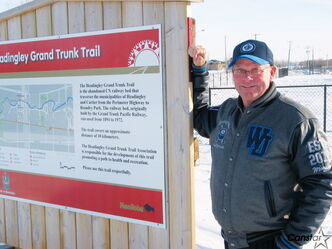 Headingley Grand Trunk Trail Association treasurer Ray Hutton is pleased that Headingley's draft parks and recreation master plan includes support for contining to improve and extend the local trail system.