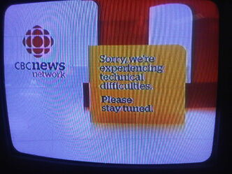 CBC displayed a