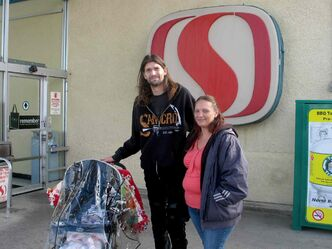 Tom James and Eva Zglobicki are regular customers of the 1441 Main St. Safeway, one of the 23 Safeway locations Sobey's has been ordered to sell. The North End couple doesn't know what they'll do for groceries if another grocer doesn't take its place.