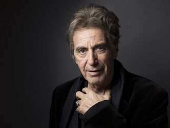 FILE - In this Dec. 7, 2012 file photo, Al Pacino poses for a portrait, in New York. Pacino stars as record producer and convicted killer Phil Spector in the HBO film,