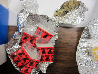 Nelson House RCMP seized 17 flaps of cocaine.